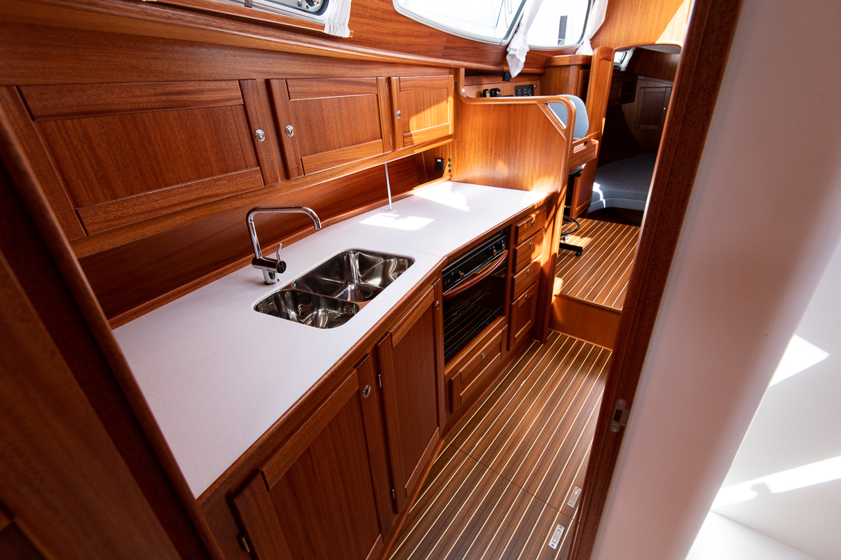 Pantry of a Nordship 360 deck saloon