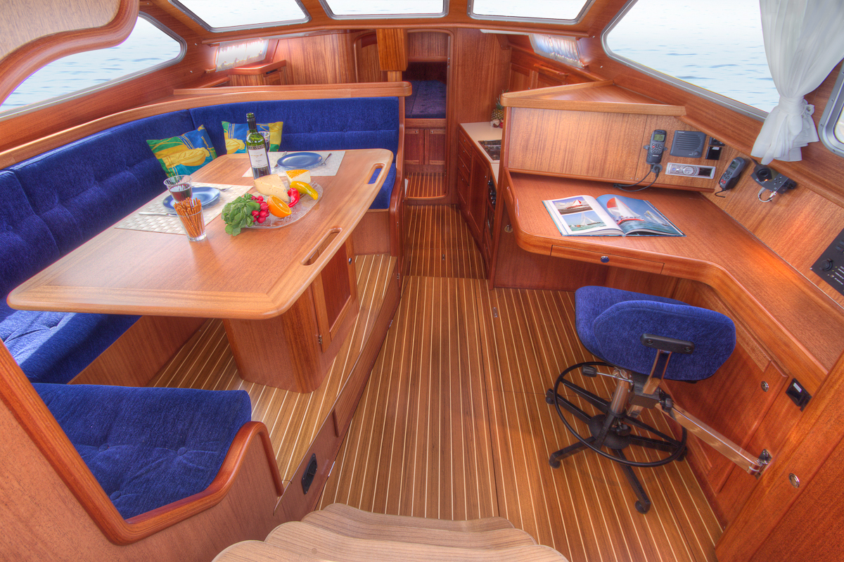 Nordship 430 decks saloon interior design