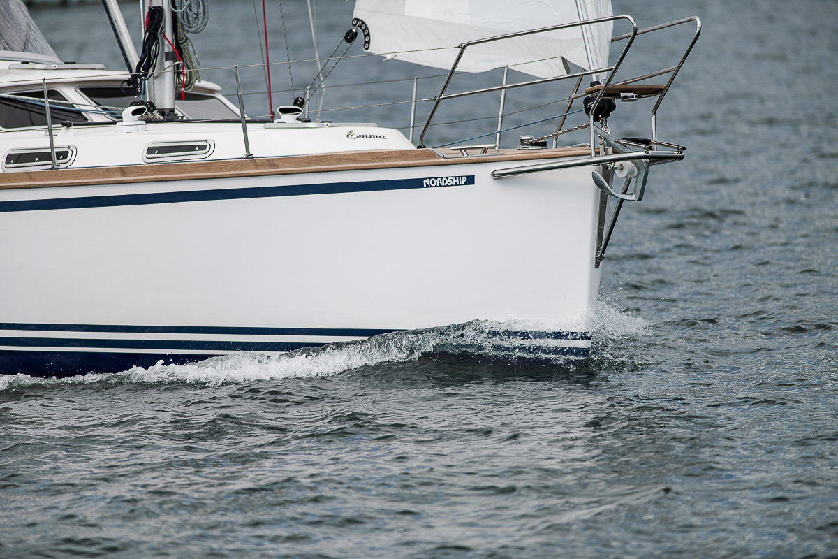 Brilliant sailing qualities af a Nordship 360 deck saloon