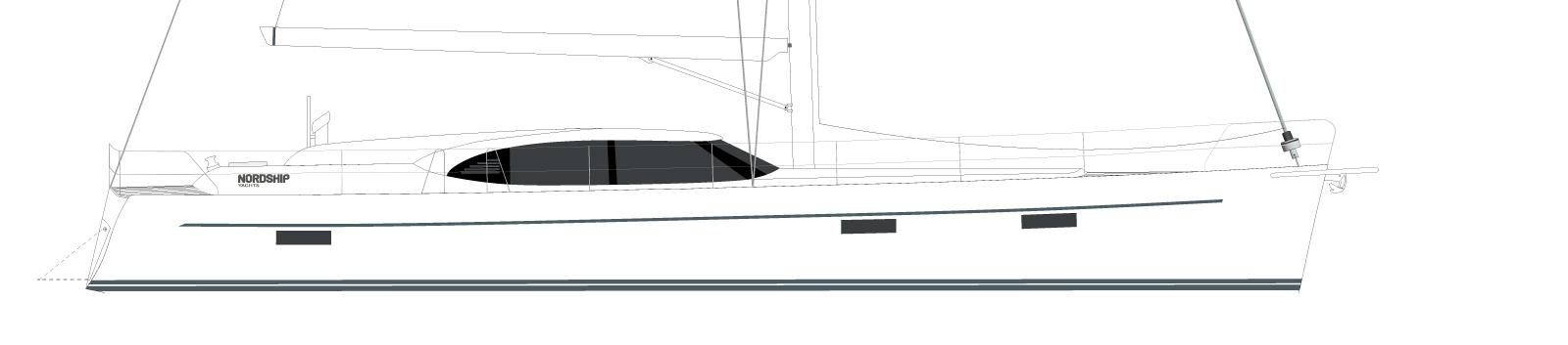 Nordship 500 deck saloon custom line