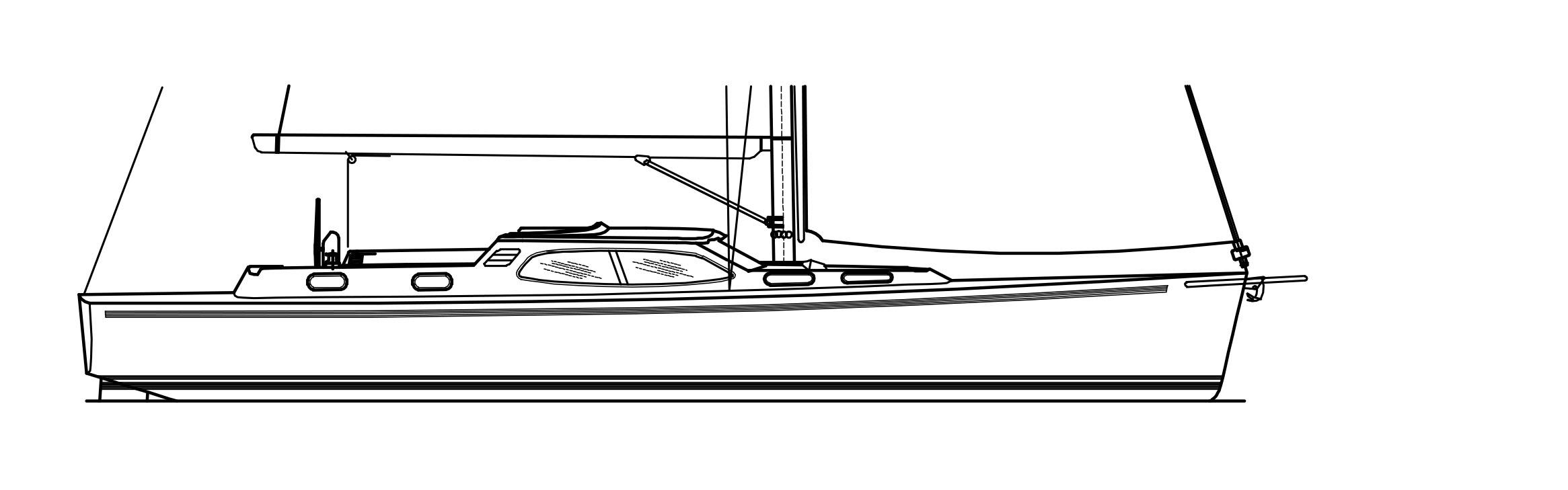 Nordship 49 deck saloon costum design