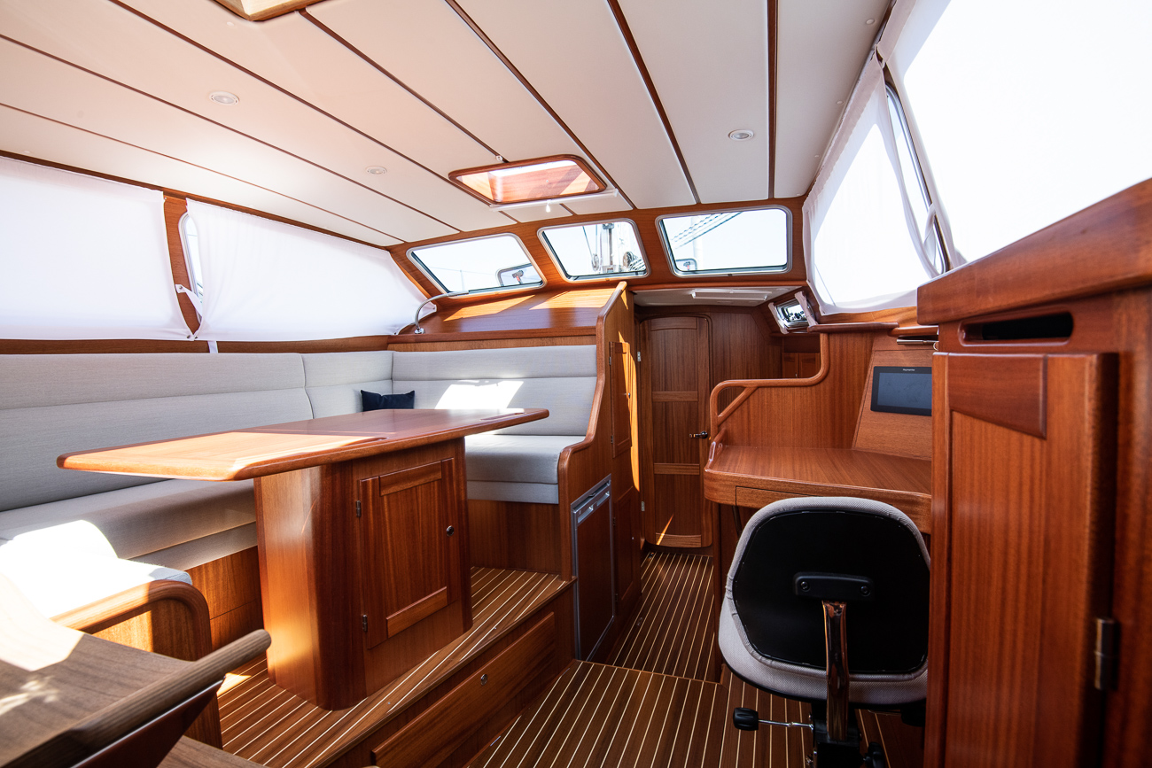 Nordship 380 deck saloon interior