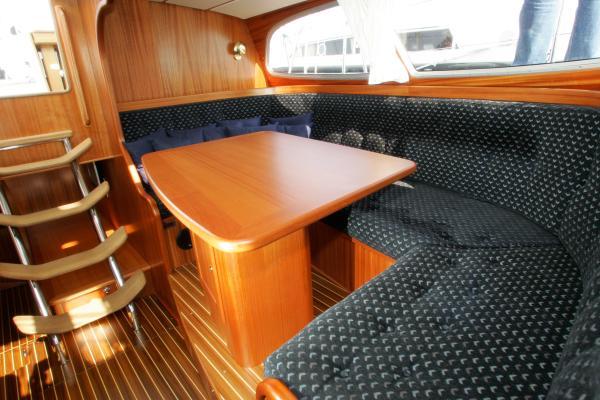 Nordship 40 deck saloon interior