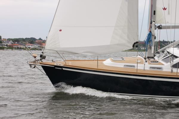 Nordship 40 deck saloon
