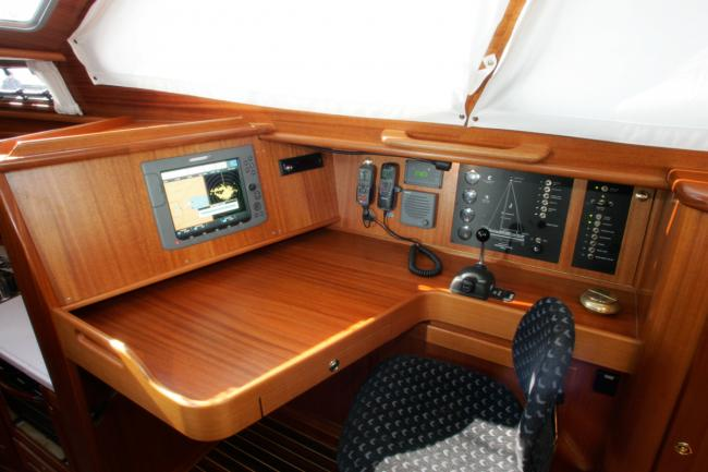 Nordship 40 deck saloon interior