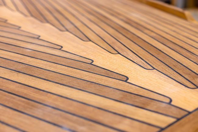 Nordship craftsmanship - teak deck