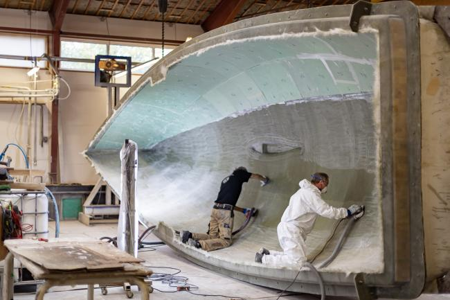 Nordship craftsmanship - hull casting