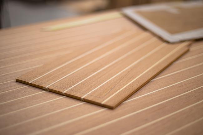 Nordship craftsmanship - material