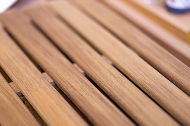 Nordship craftsmanship - teak bench