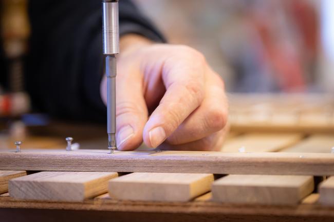 Nordship craftsmanship - teak benches