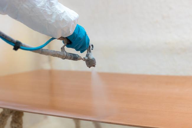 Nordship craftsmanship - lacquering