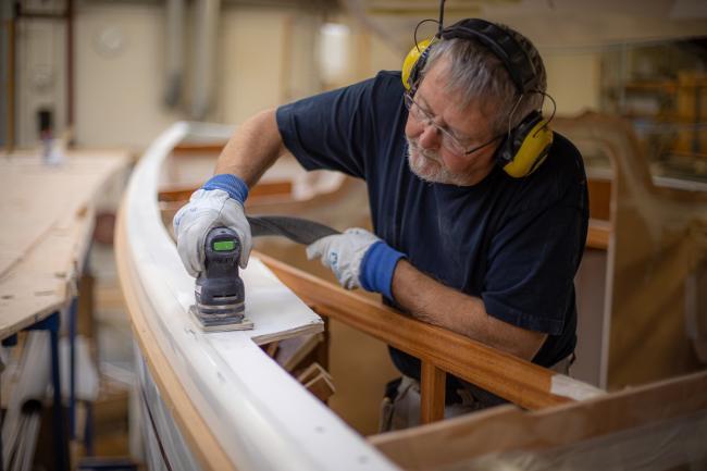 Nordship craftsmanship - polishing