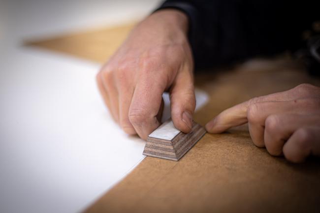 Nordship craftsmanship - precision mesurements