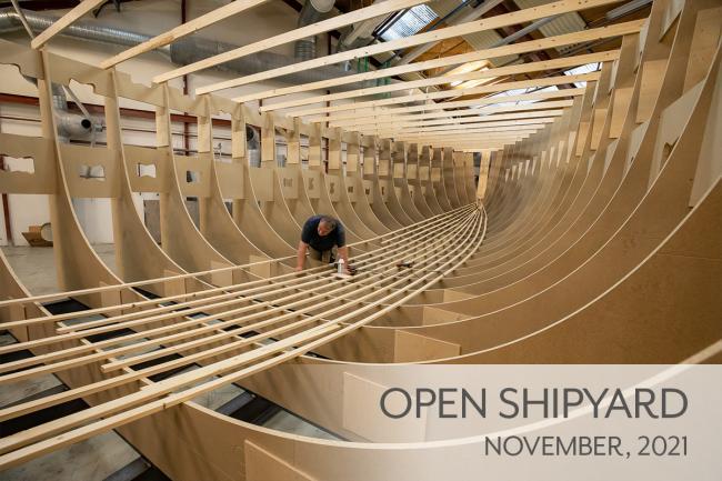 Visit the Nordship shipyard
